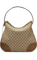 Gucci Bree Original Gg Canvas Hobo Bag - Lyst