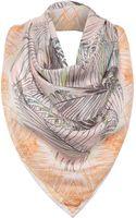 Matthew Williamson Song Bird Silk Square Scarf - Lyst