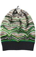 Missoni Wool Viscose Lurex Knit Hat - Lyst