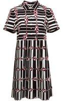 Suno Pleated Shirt Dress - Lyst