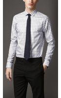 Burberry Modern Fit Check Cotton Shirt - Lyst