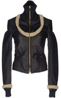 Gianfranco Ferré Leather Outerwear - Lyst