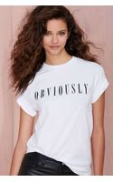 Nasty Gal Obviously Oversized Tee - Lyst