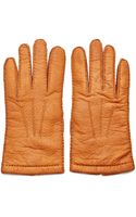 Merola Gloves Mens Pecary Leather Gloves - Lyst