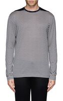 Lanvin Narrow Stripe Tshirt - Lyst