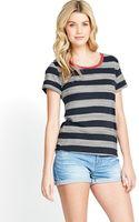 Bench Tape Back Stripe T-Shirt - Lyst