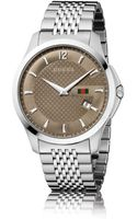 Gucci Gtimeless Stainless Steel Watch - Lyst