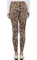 Stella McCartney Leopardpattern Leggings - Lyst