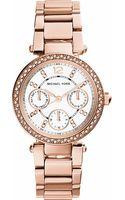 Michael Kors Parker Stainless Steel Watch - Lyst