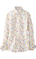 Uniqlo Ines Cotton Lawn Printed Long Sleeve Shirt - Lyst