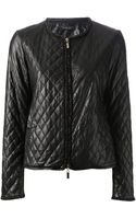 Twin-set Simona Barbieri Quilted Jacket - Lyst