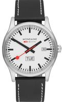 Mondaine Stainless Steel Watch White - Lyst
