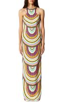 Mara Hoffman High-neck Printed Maxi Dress - Lyst