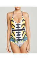 Clover Canyon Toucan One Piece Swimsuit - Lyst