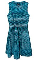 Cynthia Rowley Gingham Mesh Inset Dress - Lyst
