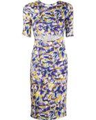 Suno All Over Tulip Cutout Dress - Lyst