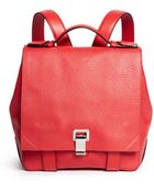 Proenza Schouler 'Courier' Small Pebbled Leather Backpack - Lyst