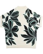 3.1 Phillip Lim Embroidered Short Sleeve Top - Lyst