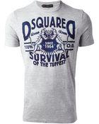 DSquared² Logo Tshirt - Lyst