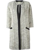 Forte Forte Single Breasted Coat - Lyst
