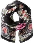 Givenchy Paradise Flowers Silk Chiffon Scarf - Lyst