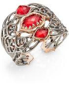 Stephen Webster Sterling Silver & 18K Rose Gold Vermeil Bracelet - Lyst