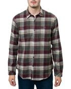 RVCA Hook Check Shirt In Grey - Lyst