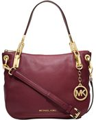 Michael Kors Michael Brooke Medium Shoulder Tote - Lyst