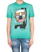 DSquared² Picasso Print T-Shirt - Lyst