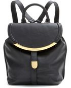 See By Chloé Leather Backpack - Lyst
