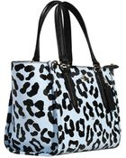 Coach Mini Crossbe Carryall Ocelot Shopping Pelle Stampa Maculato - Lyst