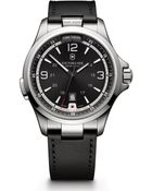Victorinox Night Vision Watch With Leather Strap - Lyst