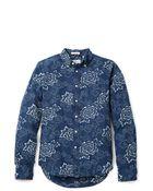 Gant Rugger Indigo Oxford Shirt - Lyst