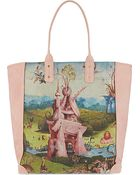 Undercover Printed Leather Tote - Lyst