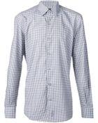 Ermenegildo Zegna Checked Shirt - Lyst