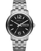 Marc By Marc Jacobs Mens Fergus Stainless Steel Bracelet Watch - Lyst