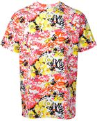 Jil Sander Abstract Printed T-Shirt - Lyst
