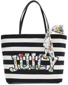 Juicy Couture Floral Oasis Velour Tote - Lyst