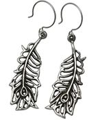 Femme Metale Jewelry Fancy Feathers Earring - Lyst