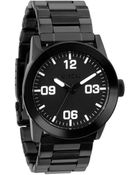 Nixon Private Ss All Black Watch - Lyst