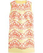 RED Valentino Brocade Shift Dress - Lyst