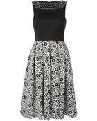 Holly Fulton Floral-Print Dress - Lyst