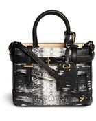 Reed Krakoff 'Micro Boxer' Lizard Print Leather Satchel - Lyst