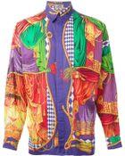 Gianni Versace Vintage Printed Shirt - Lyst