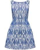 Alice + Olivia Epstein Pouf Dress - Lyst