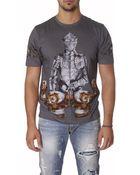 Dolce & Gabbana Heraldic Print Cotton T - Lyst