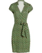 Diane von Furstenberg Jilda Two Printed Silk Dress - Lyst