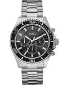 Guess Watch Mens Chronograph Stainless Steel Bracelet 45mm - Lyst