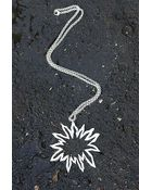 Brooklyn Heavy Metal Trendy A$$ H*Le Necklace - Lyst