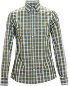 Stella Jean Checked Cotton Shirt - Lyst